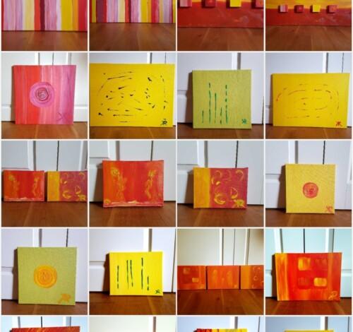 Bilder Acryl / Öl